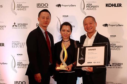 Panorama Nha Trang được vinh danh tại Asia Property Award 2017