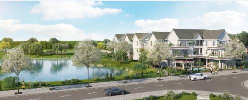 Không gian sống xanh tại Park Riverside Premium