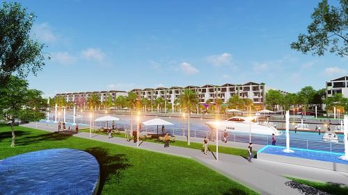Dự án đô thị ven sông Kingbay giáp ranh TP HCM