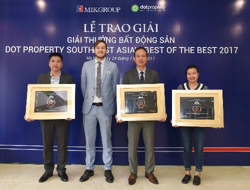 Mövenpick Resort Waverly Phú Quốc đạt giải Dự án ven biển tốt nhất