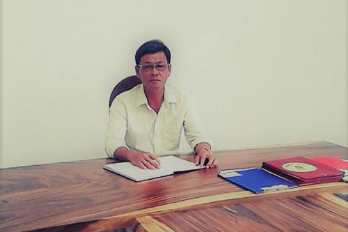 Ông Dương Văn Cường - Phó giám đốc nông trại TSC.