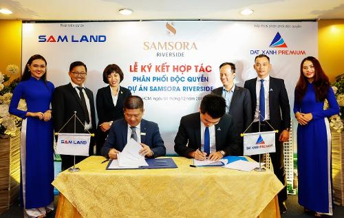 Đất Xanh Premium trở thành nhà phân phối căn hộ Samsora Riverside
