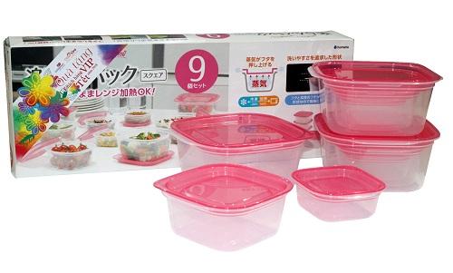 Bộ hộp đựng thực phẩm đa năng nhập khẩu Nhật Bản sẽ là quà Tết 2018 cho quý khách VIP của Co.opmart và Co.opXtra. Ảnh: Co.opmart
