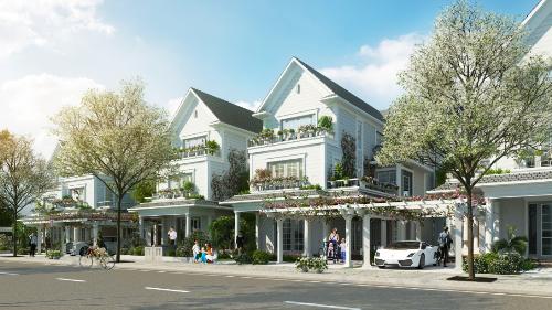 Biệt thự Park Riverside Premium lấy cảm hứng thiết kế từ Venice