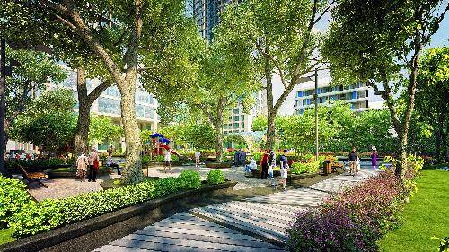 Dự án 5 Seasons dành 70% diện tích cho cảnh quan và khu tiện ích