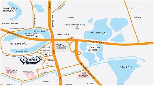 5 điểm nhấn của dự án chung cư Osaka Complex