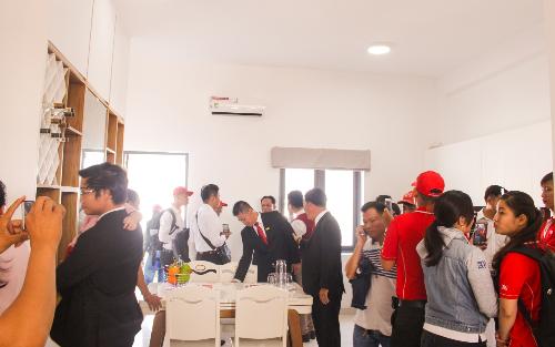LDG Group khai trương nhà phố xây sẵn tại The Viva City