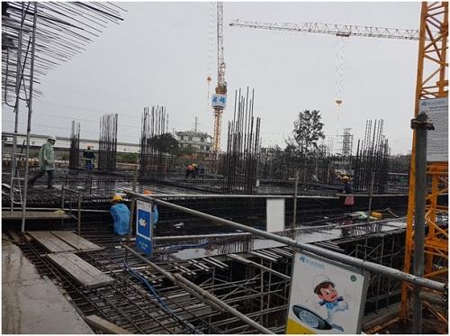 Dự án Tara Residence vượt tiến độ xây dựng