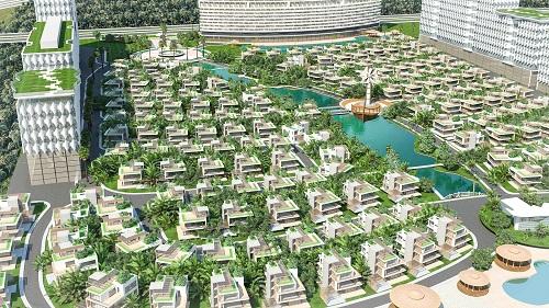 Dự án Vung Tau Regency giới thiệu 192 căn biệt thự cao cấp
