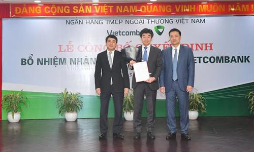 Vietcombank lần đầu có phó tổng giám đốc ngoại