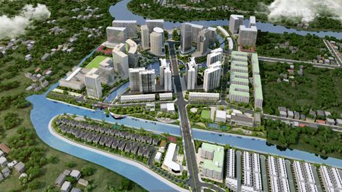 Hơn 500 căn hộ kênh đào Flora Mizuki được đặt chỗ
