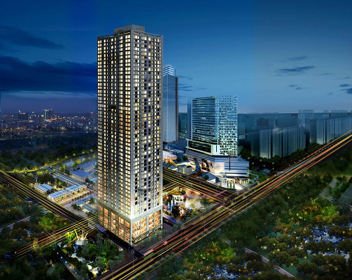 Mở bán căn hộ ở tòa nhà cao nhất quận Hà Đông
