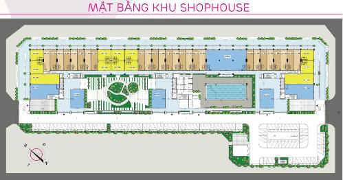 Thiết kế 2 tầng thông thoáng tại ki-ốt thương mại The K - Park