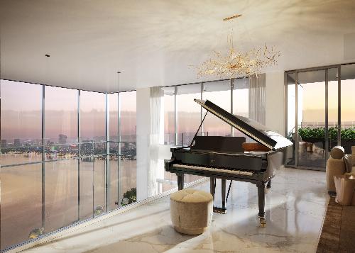 Penthouse duplex - căn hộ dành cho giới thượng lưu