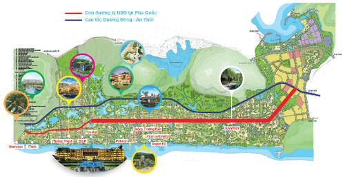 Cơ hội cho giới đầu tư trên 'con đường tỷ đô' ở Phú Quốc