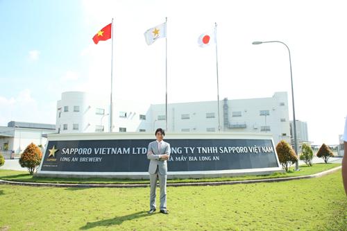 Ông Mikio Masawaki - Tổng Giám đốc Sapporo Việt Nam.