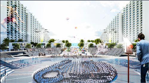 Sắp ra mắt dự án bất động sản nghỉ dưỡng The Arena