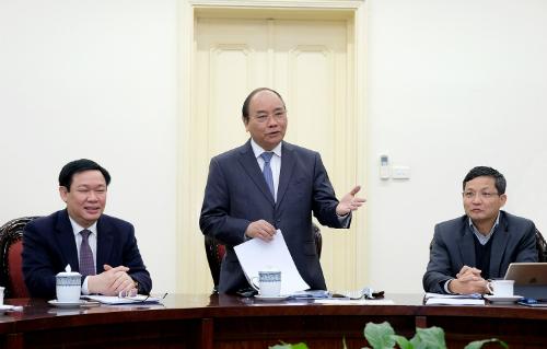 Thủ tướng đề nghị Tổ tư vấn theo dõi sát diễn biến kinh tế xã hội để có tư vấn kịp thời cho Chính phủ trong năm tới. Ảnh: VGP