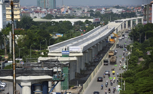 Bất động sản quận Cầu Giấy hưởng lợi từ tuyến đường sắt trên cao