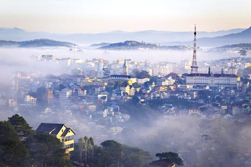 Góc nhìn bao quát thành phố từ The Panaroma - Đà Lạt