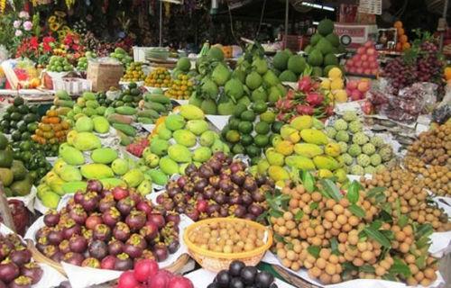 Xuất khẩu trái cây Việt nhiều khởi sắc. Ảnh: Hồng Châu.