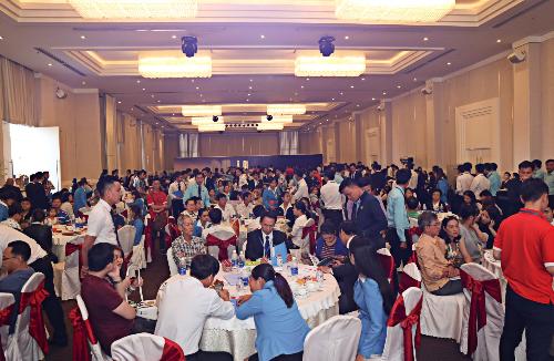 Hơn 450 khách hàng đặt chỗ căn hộ thông minh Saigon Intela