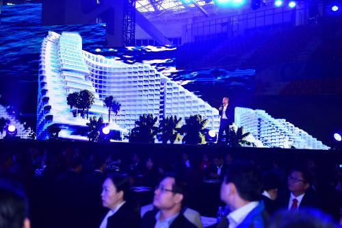 Hàng nghìn người dự lễ ra mắt dự án The Arena