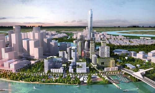 Thủ Thiêm được dự báo sẽ trở thành tâm điểm của bất động sản cao cấp toàn TP HCM trong năm 2018.