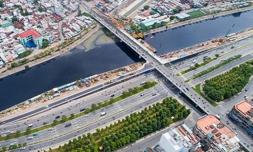 Đòn bẩy hạ tầng góp phần tăng giá trị bất động sản khu Tây Sài Gòn