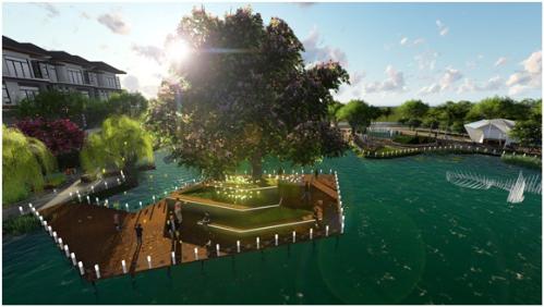 Không gian sống xanh tại Hưng Phát Green Star
