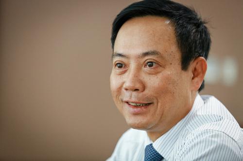 Ông Nguyễn Văn Dũng cho rằng thị trường chứng khoán không phải nơi để thành tỷ phú sau một đêm. Ảnh: Thành Nguyễn.