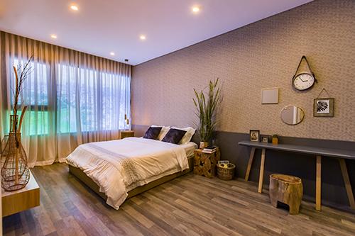 Có nhiều loại căn hộ đa dạng diện tích cho khách hàng lựa chọn, bố trí từ 2-3 phòng ngủ.