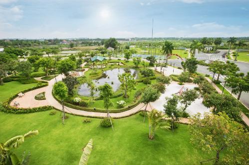 Dãy biệt thự có 8 công viên tại khu Đông TP HCM