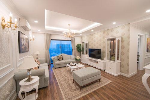 Các căn hộ tại TNR Goldmark City gây ấn tượng bởi phong cách hiện đại, sang trọng.