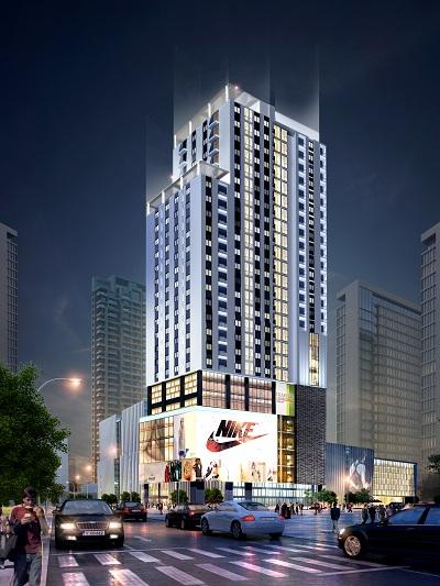 Liễu Giai Tower tọa lạc tại 26 Liễu Giai, trung tâm quận Ba Đình.