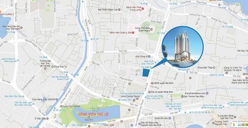 Liễu Giai Tower kết hợp giữa lối kiến trúc hiện đại và sang trọng