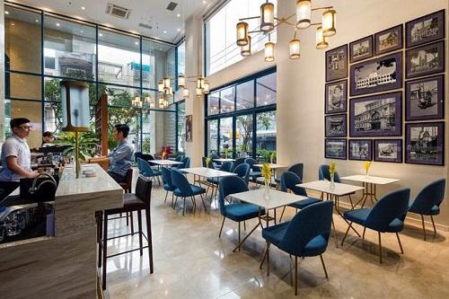 Dịch vụ tiện ích đầy đủ như quầy bar, nhà hàng... góp phần tăng giá trị căn hộ cho khách nước ngoài thuê. Ảnh: Oakwood Asia Pacific.