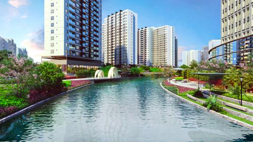 Dự án căn hộ kênh đào Flora Mizuki tại khu Nam Sài Gòn