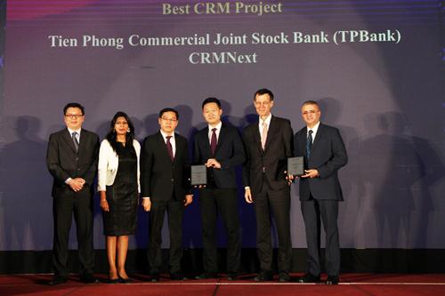 PBank là ngân hàng dành được nhiều giải thưởng nhất trong 1 vài hạng mục liên quan đến ngân hàng số do TAB trao tặng
