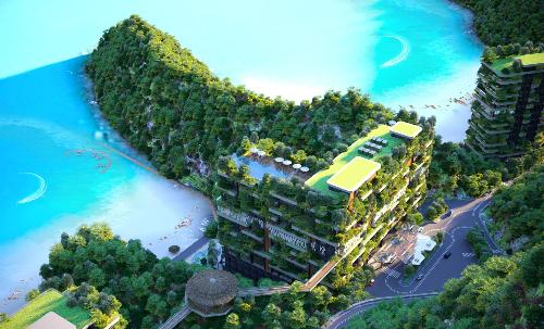 Gần 200 biệt thự Flamingo Cát Bà Beach Resort vừa mở bán đã có chủ