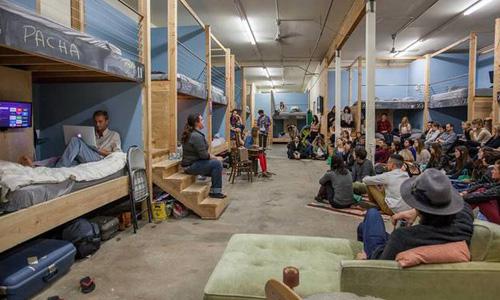 Mô hình co-living được dự báo có thể du nhập vào Việt Nam sau khi thị trường bất động sản này đón nhận làn sóng bùng nổ văn phòng (không gian làm việc) chia sẻ co-working. Ảnh: treehugger.com