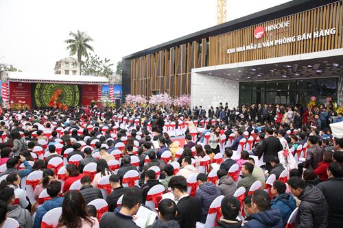 Nhiều giao dịch thành công tại lễ khai trương căn hộ mẫu Hinode City