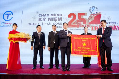 C.T Group nhận Huân chương Lao động hạng nhì