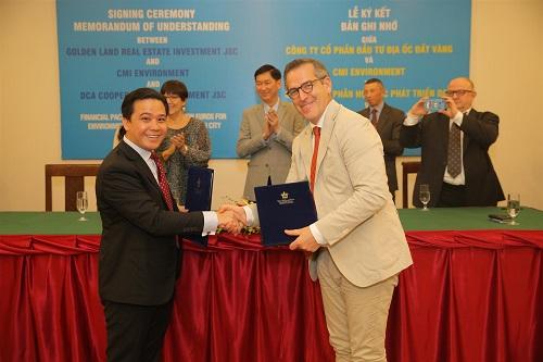 450 triệu euro đầu tư vào lĩnh vực môi trường tại TP HCM