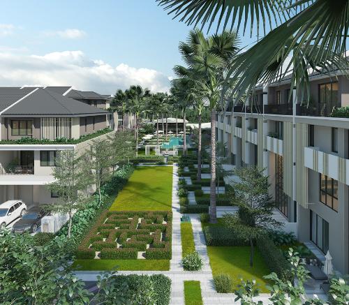 Không gian sống xanh tại khu đô thị ParkCity