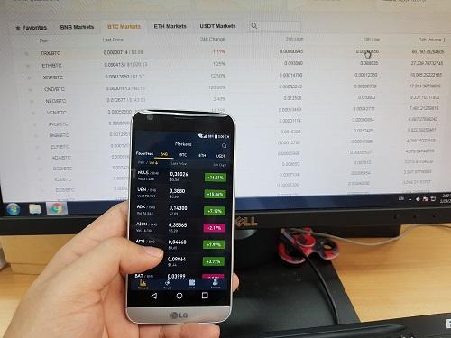 Nhiều nhà đầu tư mất ăn mất ngủ vì tuần giao dịch vừa qua của thị trường tiền ảo. Ảnh: Minh Sơn