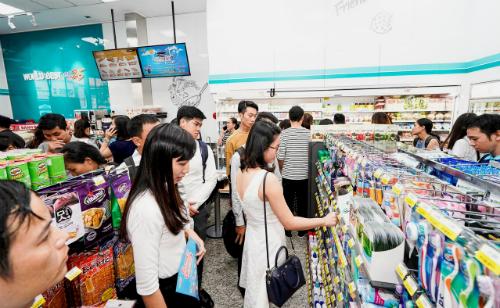 Cuộc đua mặt bằng mở cửa hàng tiện lợi ở Sài Gòn