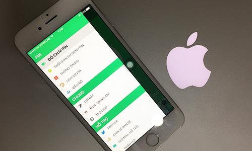 Apple đang hỗ trợ thay pin đểcải thiện tốc độ iPhonecũ. Ảnh: Anh Tú.