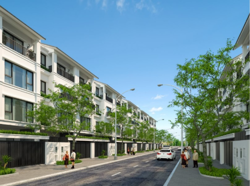 Lợi thế không gian nhà liền kề tại dự án Gamuda City