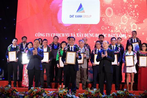 Đất Xanh vào top 500 doanh nghiệp lớn nhất Việt Nam năm 2017